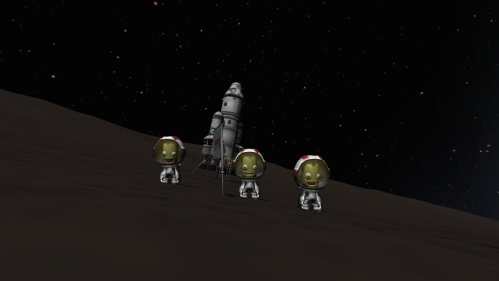 how to return to kerbin from orbit mission