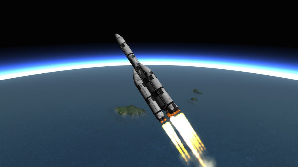 simple rocket kerbal space program - photo #29